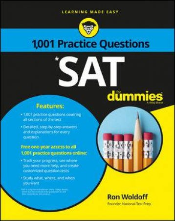 1001 Sat Practice Questions For Dummies