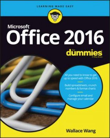 Office 2016 For Dummies by Wallace Wang