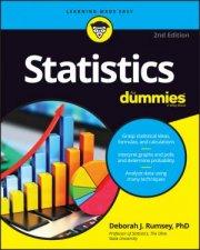 Statistics For Dummies - 2nd Ed by Deborah J Rumsey