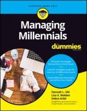 Managing Millennials For Dummies by Hannah L. Ubl & Lisa X. Walden & Debra Arbit