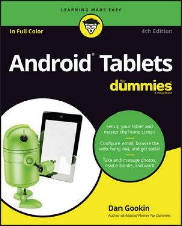 Android Tablets For Dummies, 4th Ed