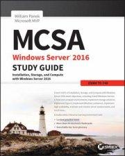 MCSA Windows Server 2016 Study Guide by William Panek