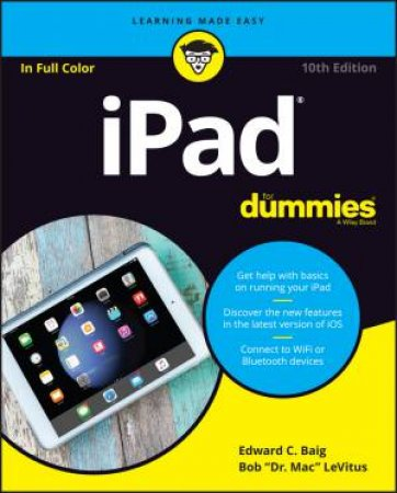 Ipad For Dummies 10th Ed