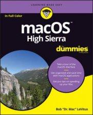 Macos High Sierra For Dummies 1st Ed by Bob LeVitus