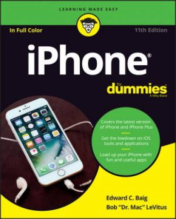 Iphone For Dummies 11th Ed