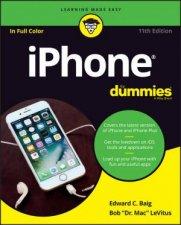 Iphone For Dummies 11th Ed by Edward C. Baig & Bob LeVitus