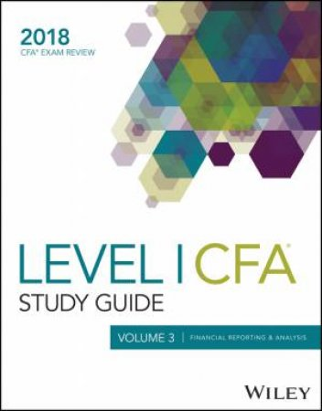 Wiley Study Guide for 2018 Level I Cfa Exam by Wiley - 9781119435280 - QBD  Books