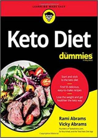 Keto Diet For Dummies by Rami Abrams & Vicky Abrams