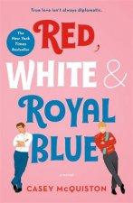 Red White  Royal Blue