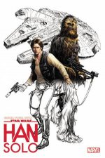 Colour Your Own Star Wars Han Solo
