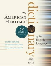 American Heritage Dictionary Of The English Language 5th Ed