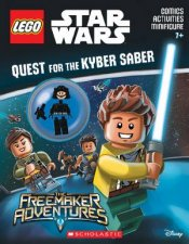 LEGO Star Wars Quest for the Kyber Saber Activity Book with Minifigure