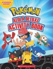 Pokemon Alola Deluxe Activity Book