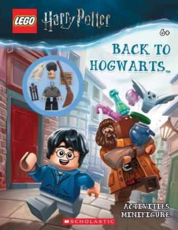 LEGO Harry Potter: Back To Hogwarts Activity Book + Minifigure by Various