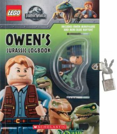 Lego Jurassic World: Owens Jurassic Logbook (With Minifigure) by Various