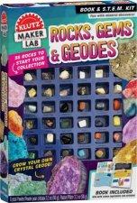 Klutz Maker Lab Rocks Gems And Geodes