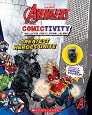 Avengers Comictivity Greatest Heroes Unite