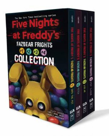 Five Nights At Freddys: Fazbear Frights 4 Book Boxed Set by Scott Cawthon