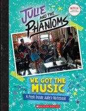 Julie And The Phantoms We Got The Music A Peek Inside Julies Notebook
