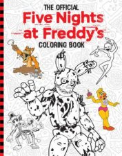 The Official Five Nights At Freddys Colouring Book