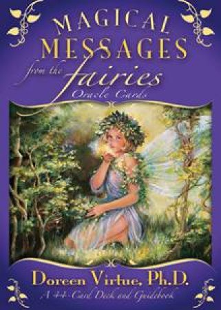 Magical Messages From The Fairies Oracle Cards and Guidebook