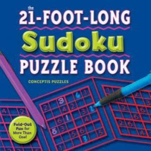 21 Foot Long Sudoku Puzzle Book by Various