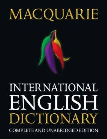 Macquarie International English Dictionary by Various