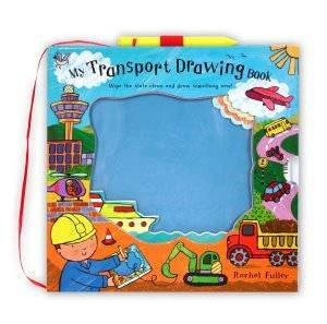 My Transport Drawing Book by Rachel Fuller