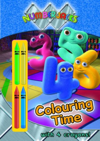 Numberjacks: Colouring Time by Various