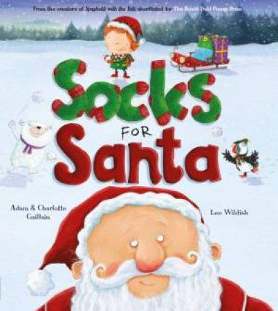 Socks for Santa by Adam Guillain