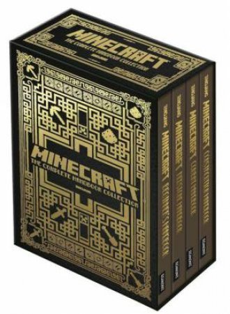 Minecraft 4 Book Slipcase