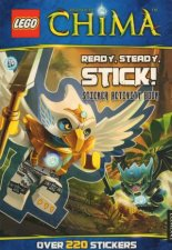 LEGO Chima Sticker Activity Book Ready Steady Stick