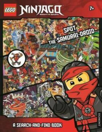LEGO Ninjago: Spot The Samurai-Droid (Search-And-Find) by Various