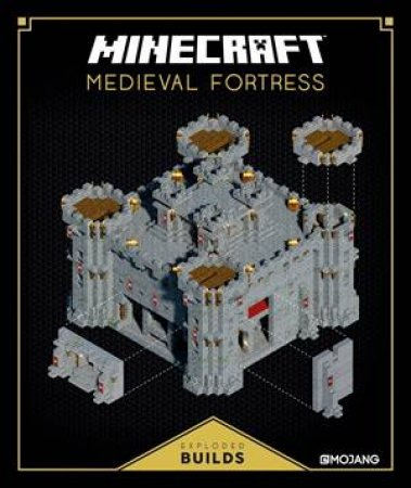 Minecraft Exploded Builds: Medieval Fortress by Various