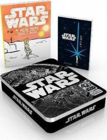 Star Wars 40th Anniversary Tin: Includes Book Of The Film And Doodle Book by Various