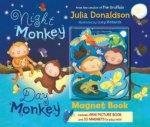 Night Monkey Day Monkey Magnet Book