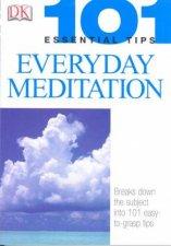 101 Essential Tips Basic Meditation