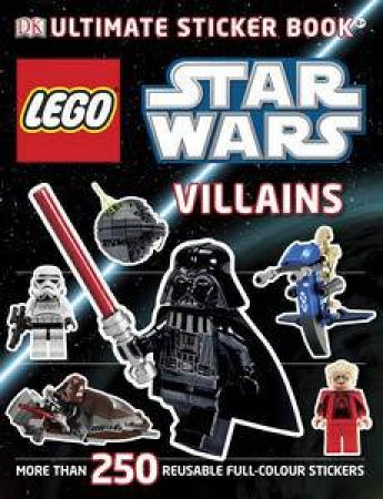 LEGO Star Wars Villains: Ultimate Sticker Book