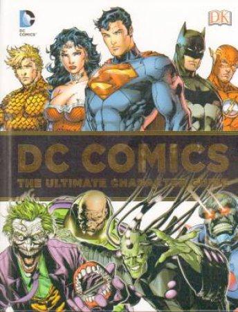 Dc comics character guide book