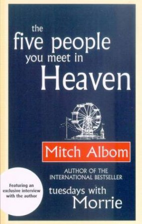 The Five People You Meet In Heaven - CD by Mitch Albom