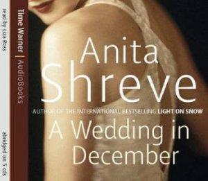 A Wedding In December - CD by Anita Shreve