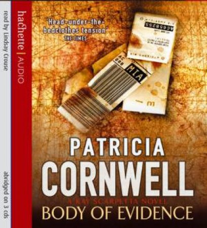 Body Of Evidence - CD by Patricia Cornwell