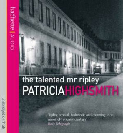 The Talented Mr Ripley - CD by Patricia Highsmith