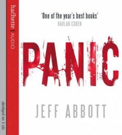 Panic (CD) by Jeff Abbott