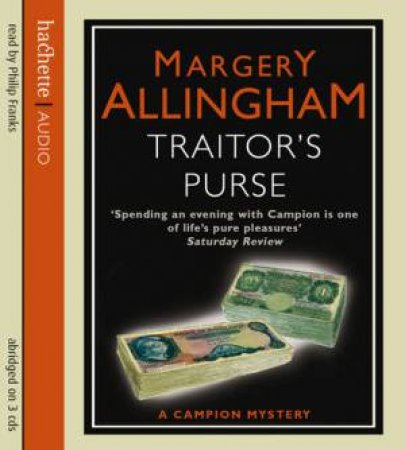 Traitor's Purse (CD) by Margery Allingham