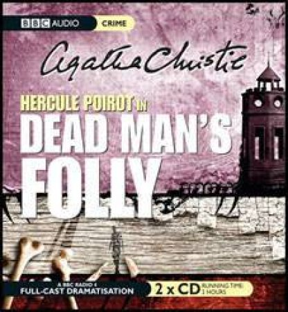 Dead Man's Folly 2XCD by Agatha Christie