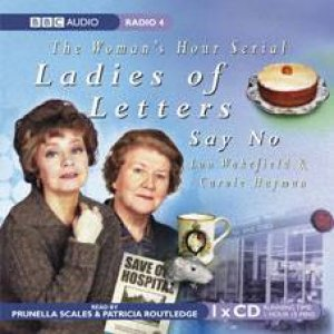Ladies of Letters Say No 1XCD by Wakefield and Carole Lou