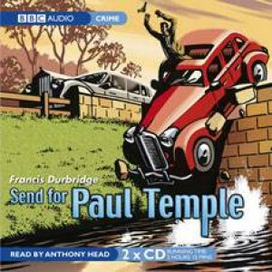 Send For Paul Temple 2XCD by Francis Durbridge
