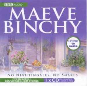 Maeve Binchy: No Nightingales, No Snakes 1XCD by Maeve Binchy