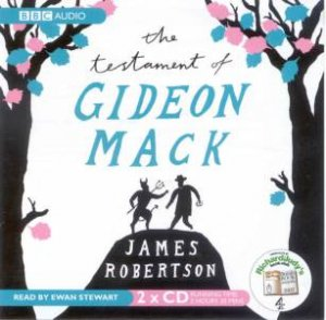 The Testament of Gideon Mack 2XCD by James Robertson
